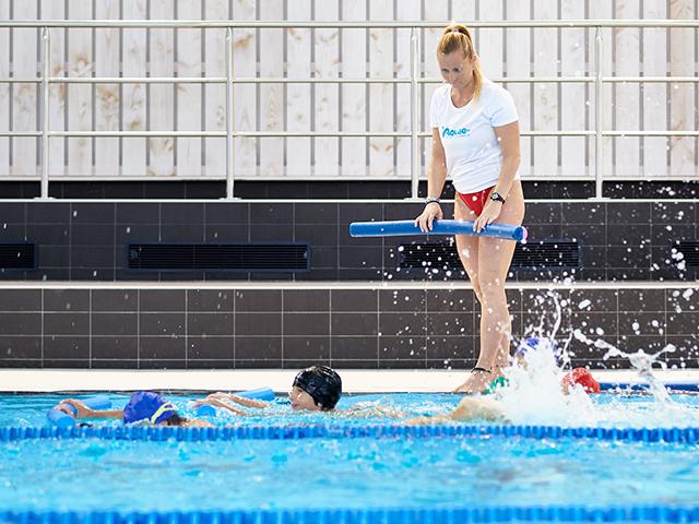 cours natation enfant aquae